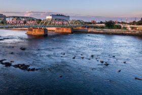 Drone Photo of Lower Trenton Bridge