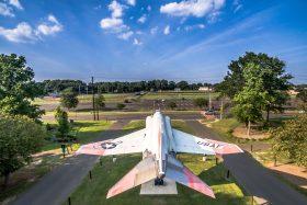 drone photo from veterans park Hamilton nj